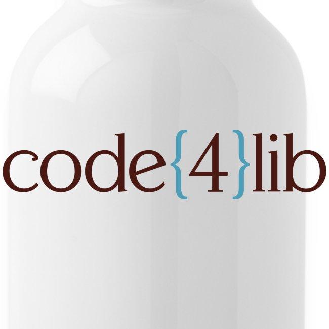 Code4Lib Water Bottle