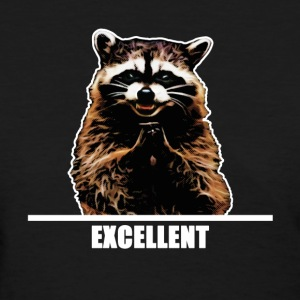 Evil Raccoon - Women's T-Shirt