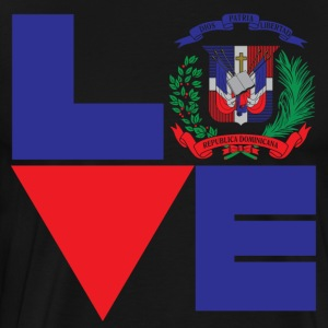 Love Dominican Republic Shirt - Men's Premium T-Shirt
