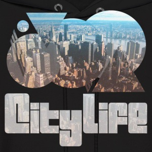City Life Sweater - Men's Hoodie