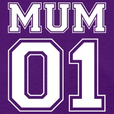 Mum number 01 Women's T-Shirts