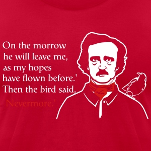 Nevermore T-Shirts - Men's T-Shirt by American Apparel