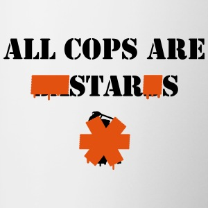 ALL COPS ARE STARS Bottles & Mugs - Contrast Coffee Mug