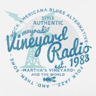 Design ~ Vineyard Radio - unisex - left breast