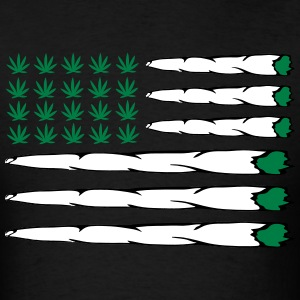 MARIJUANA FLAG T-Shirts - Men's T-Shirt