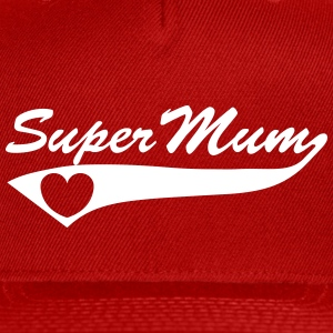 Super Mum Caps - Snap-back Baseball Cap