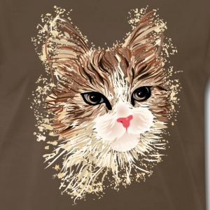 Artistic Cat T-Shirts - Men's Premium T-Shirt