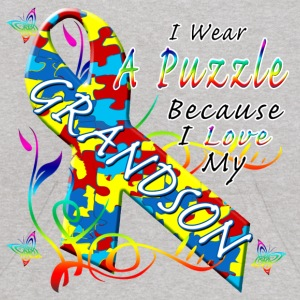 Puzzle For My Grandson Sweatshirts - Kids' Hoodie