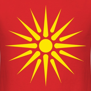 macedonian_flag T-Shirts - Men's T-Shirt