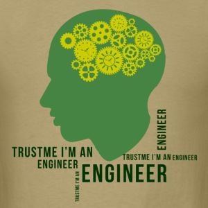 trust_me_im_an_engineer T-Shirts - Men's T-Shirt