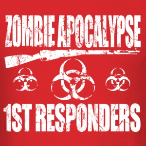 zombie_apocalypse_first_responders T-Shirts - Men's T-Shirt