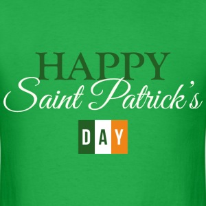 Happy St. Patrick's Day - Men's T-Shirt