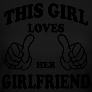 this girl loves her girlfriend Long Sleeve Shirts - Women's Long Sleeve Jersey T-Shirt
