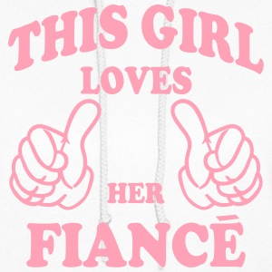 this girl loves her fiance Hoodies - Women's Hoodie