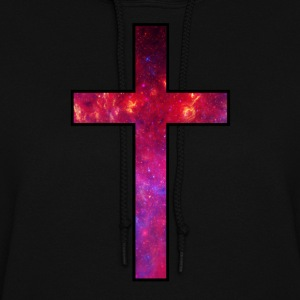 Galaxy Cross Red - Women's Hoodie