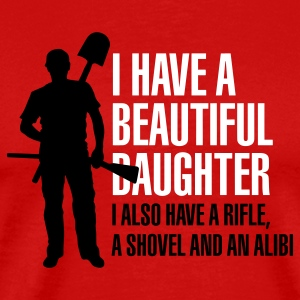 I have a beautiful daughter T-Shirts - Men's Premium T-Shirt