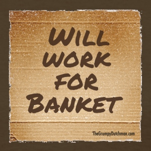 Will Work for Banket - Women's T-Shirt