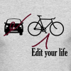 Edit Your Life - Men's Long Sleeve T-Shirt by Next Level