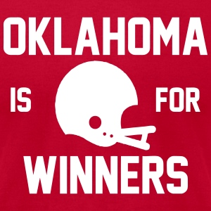 Oklahoma T-Shirts - Men's T-Shirt by American Apparel