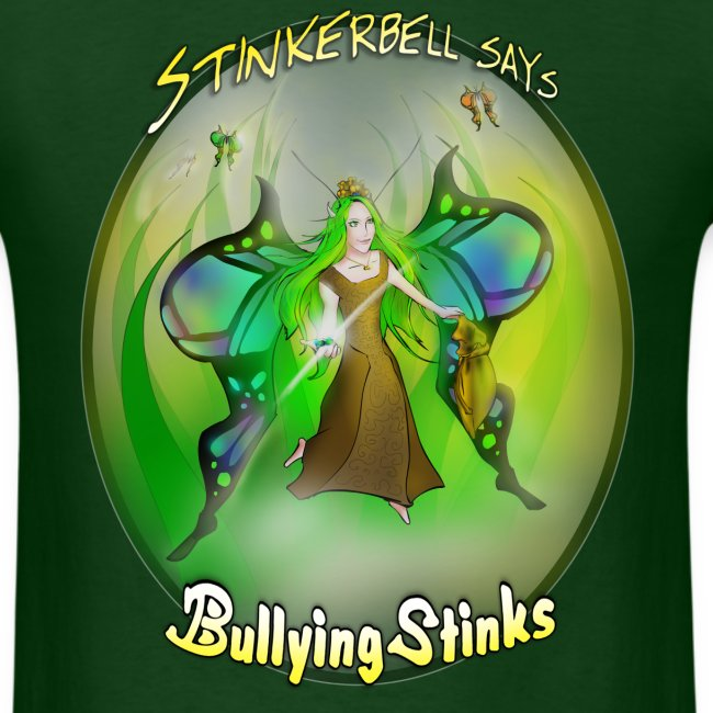Men's Stinkerbell says Bullying Stinks