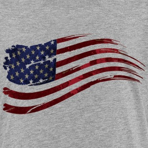 US flag vintage - Kids' Premium T-Shirt