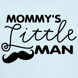 Mustache Mommy's Little Man Baby & Toddler Shirts - Short Sleeve Baby Bodysuit