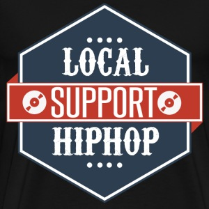 Support Local Hip Hop T-Shirts - Men's Premium T-Shirt