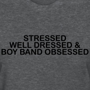 Stressed well dress & boy band obsessed Women's T-Shirts - Women's T-Shirt