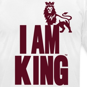 I AM KING T-Shirts - Men's T-Shirt by American Apparel