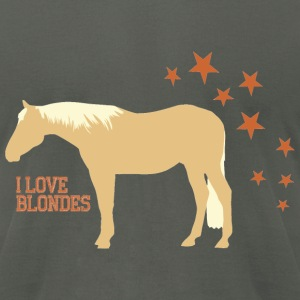 Palomino - Horse T-Shirts - Men's T-Shirt by American Apparel