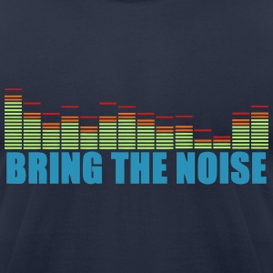 BRING THE NOISE - Men's T-Shirt by American Apparel