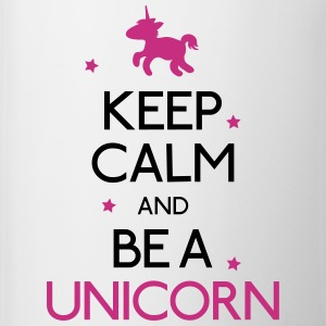 keep calm and be a unicorn Bottles & Mugs - Coffee/Tea Mug