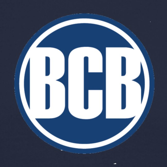 BCB Blue Logo - Men's Navy Sweatshirt
