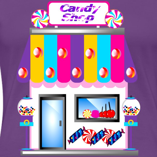 candy shop womens shirt