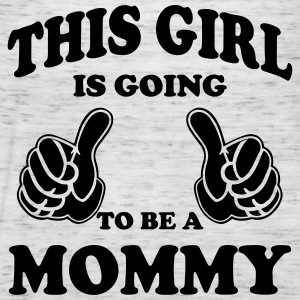 This Girl is going to be a Mommy Tanks - Women's Flowy Tank Top by Bella