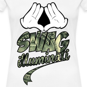 illuminati swag part two Women's T-Shirts - Women's Premium T-Shirt