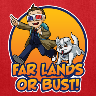 Design ~ Far Lands or Bust Tote Bag
