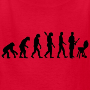 Evolution BBQ barbecue Kids' Shirts - Kids' T-Shirt