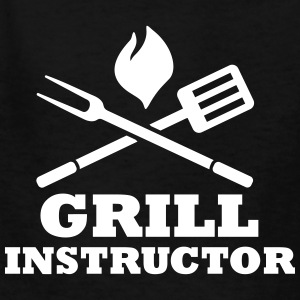 Grill Instructor Kids' Shirts - Kids' T-Shirt