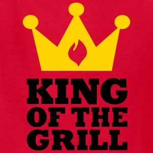 King of the Grill Kids' Shirts - Kids' T-Shirt