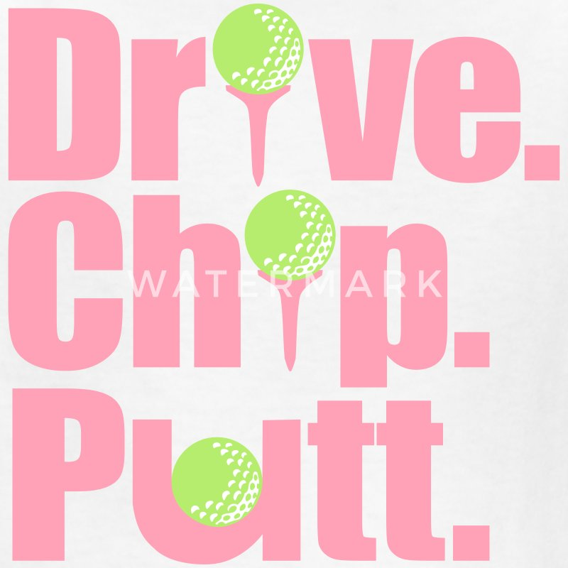 Drive. Chip. Putt (Kids') - Kids' T-Shirt