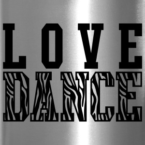 Love Dance Zebra Bottles & Mugs - Travel Mug