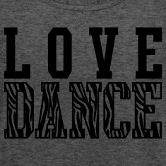 Love Dance Zebra Tanks