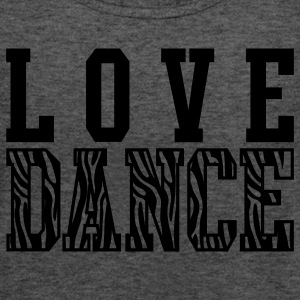 Love Dance Zebra Tanks - Women's Flowy Tank Top by Bella