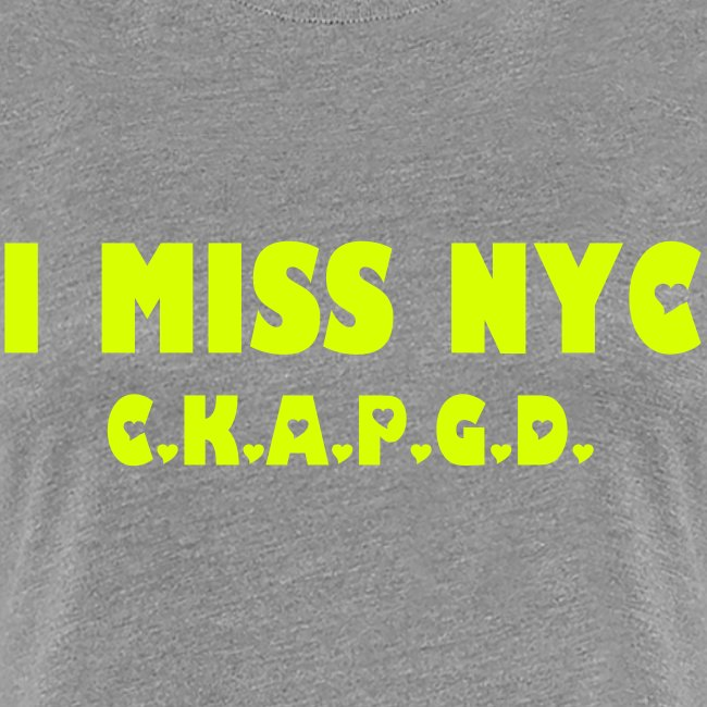 Can't Keep A Passionate Girl Down NYC-T