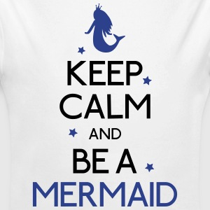 keep calm mermaid Baby & Toddler Shirts - Long Sleeve Baby Bodysuit