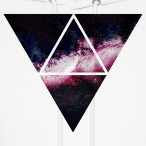 triangle galaxy Hoodies - Men's Hoodie