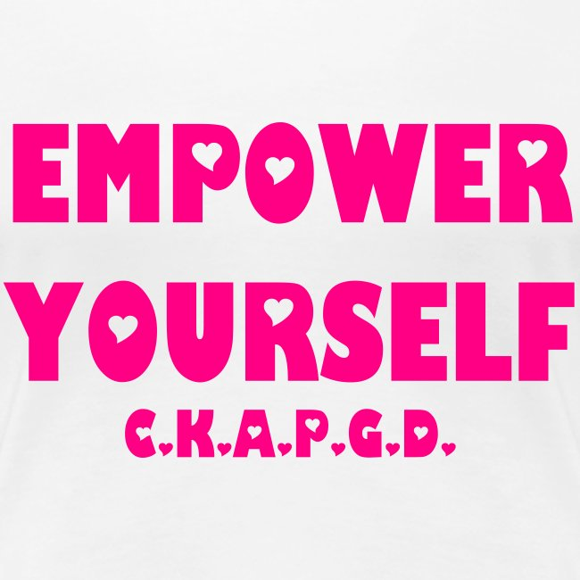 Can't Keep A Passionate Girl Down Empower T-Shirt