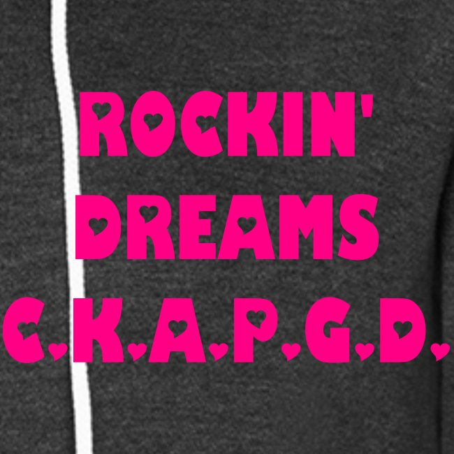Can't Keep A Passionate Girl Down Rockin' Dreams Hoodie