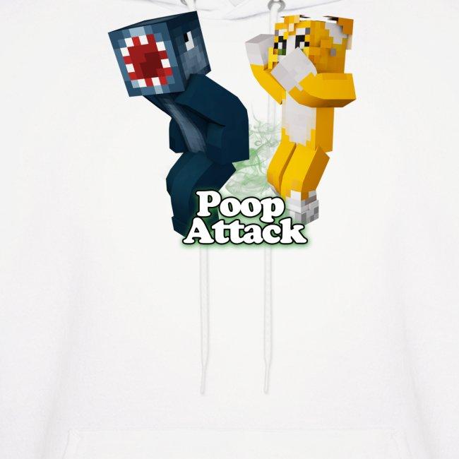 Poop Attack - Men's Hoodie